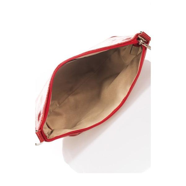 Skórzana torebka Minard, czerwona