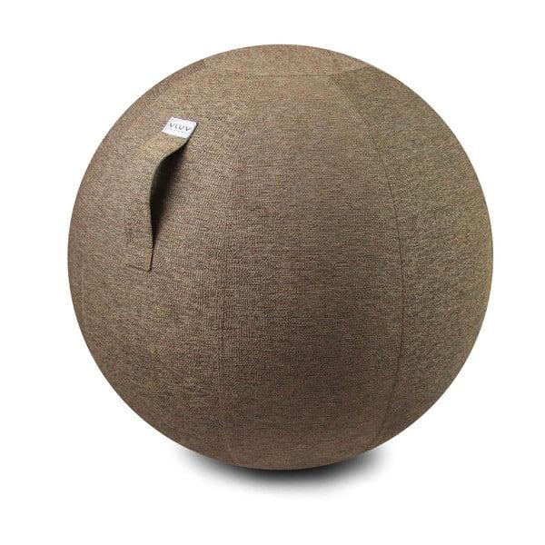 Jasnobrązowa piłka do siedzenia VLUV Stov, Ø60- 65cm