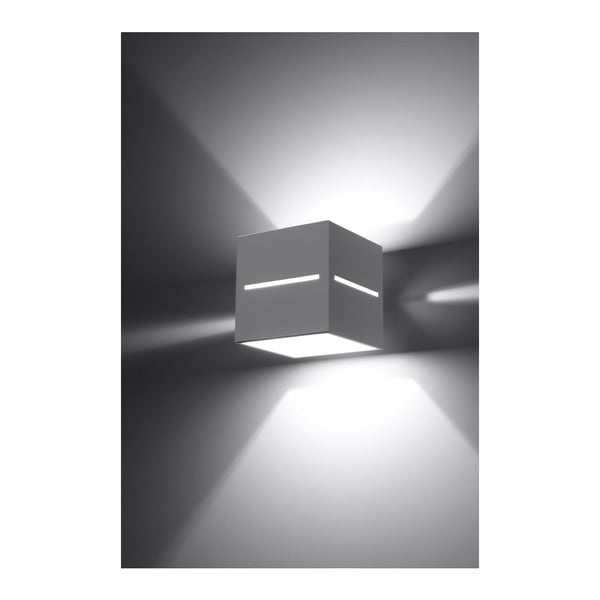 Biały kinkiet Nice Lamps Lorum