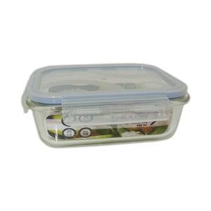 Wytrzymały szklany pojemnik na żywność Utilinox, 400 ml