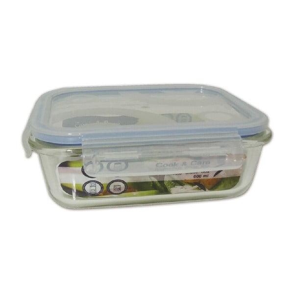 Wytrzymały szklany pojemnik na żywność Utilinox, 1500 ml