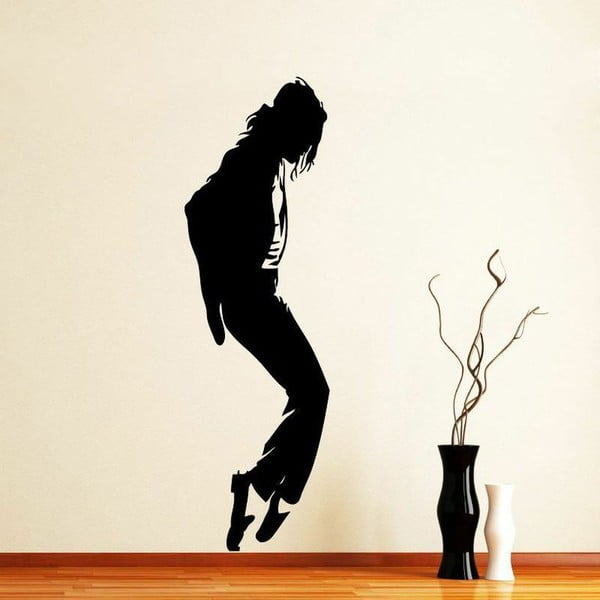 Naklejka Michael Jackson Moonwalk