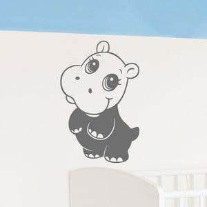 Naklejka Baby Hippopotamus