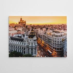 """Obraz na płótnie """"In the city"""", 50x70 cm"""