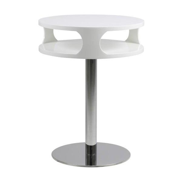 Stolik Caspian, wysokość 60 cm, biały