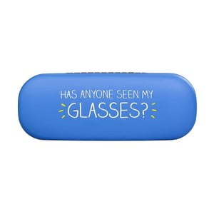 Niebieskie etui na okulary Happy Jackson See My Glasses
