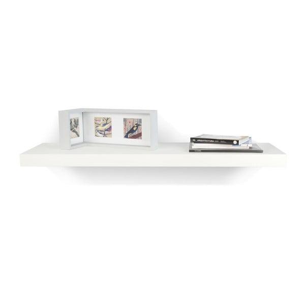 Biała półka TemaHome Balda, 107 cm