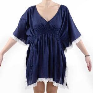 Sukienka plażowa BLE Inart, niebieska