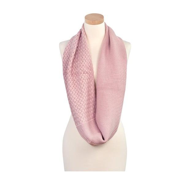 Szalik Romantic Pink
