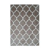 Szaro-brązowy dywan Smooth, 160x230cm