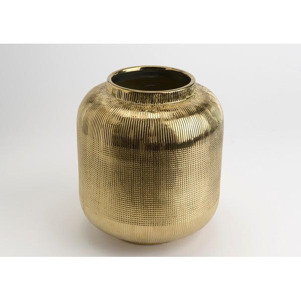 Wazon Golden Vase, 25 cm