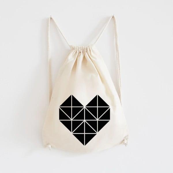 Plecak płócienny Origami Herz