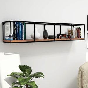 Półka z deskami z drewna sosnowego Miray, dł. 120 cm