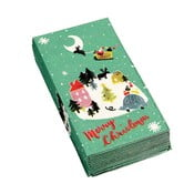 Zestaw 12 serwetek świątecznych Rex London Christmas Wonderland
