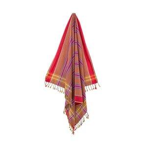 Ręcznik/pareo Gonca Red, 100x178 cm