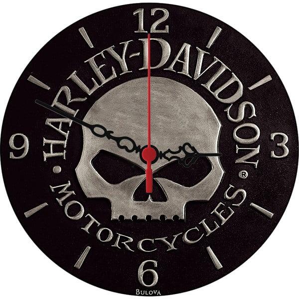Zegar ścienny Harley Davidson, 30 cm