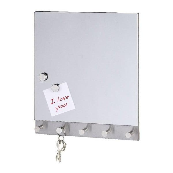 Magnetyczny wieszak na płaszcze z tablicą do pisania Mirror Big