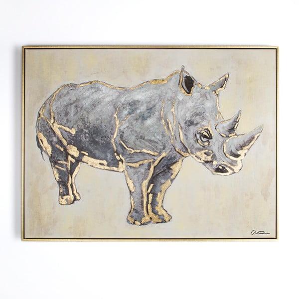 Obraz ręcznie malowany Graham & Brown Rhino,60x80cm