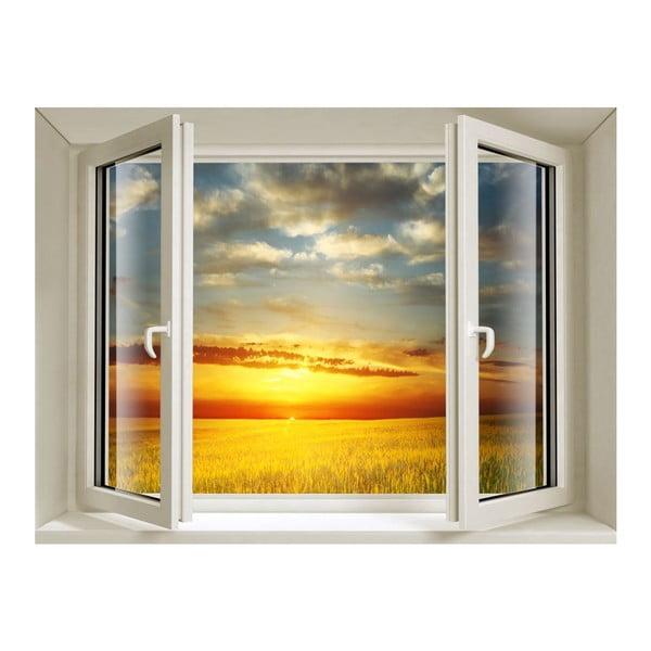 Naklejka 3D Fenêtre Sunset