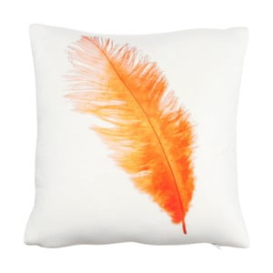 Poduszka Feather Orange, 30x30 cm