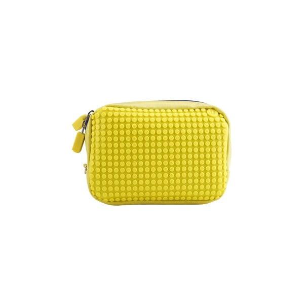 Pikselowa saszetka, żółta