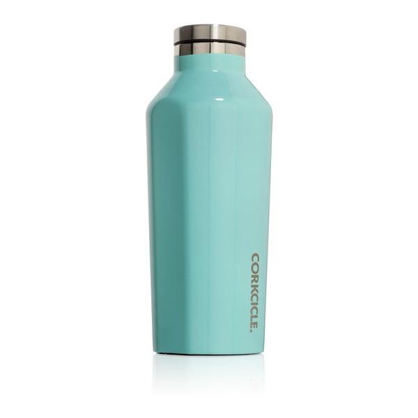 Turkusowa butelka termiczna Corkcicle Canteen, 260 ml