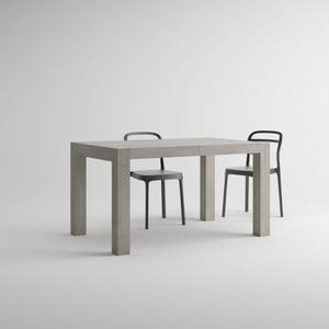 Stół rozkładany w kolorze betonu MobiliFiver Iacopo, dł.140-220cm