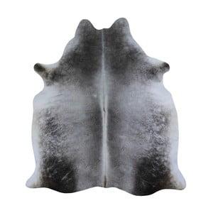 Szara skóra bydlęca, 230x155 cm