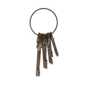 Metalowa dekoracja pęk kluczy Antic Line