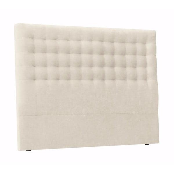 Kremowy zagłówek łóżka Windsor & Co Sofas Nova, 140x120 cm