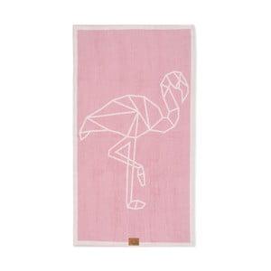Ręcznik Beach Flamingo, 160x90 cm