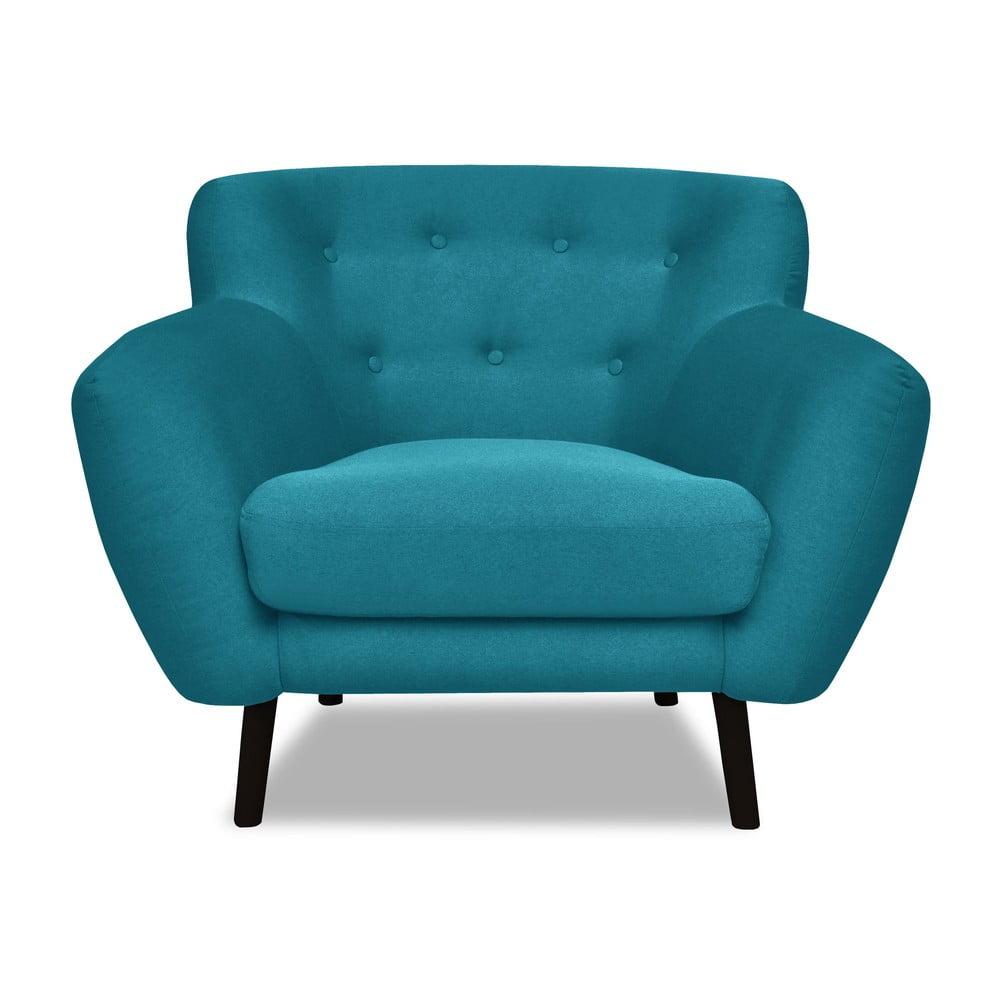 Turkusowy fotel Cosmopolitan design Hampstead