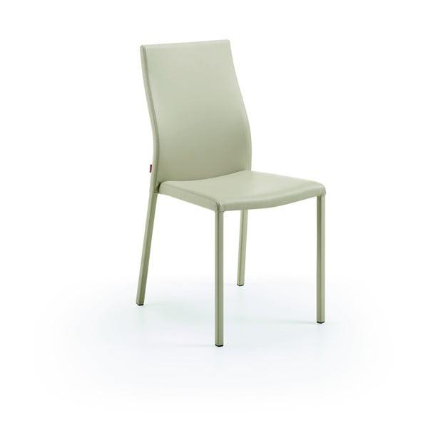 Krzesło Aura, perłowe