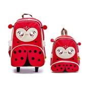 Dziecięcy plecak i walizka Biedronka Lily