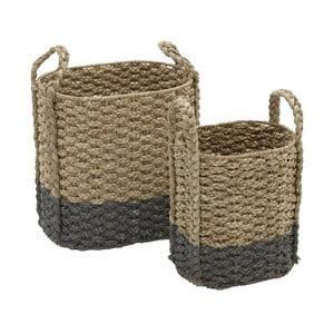 Zestaw 2 koszyków InArt Seagrass
