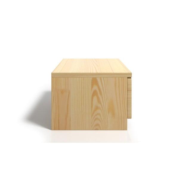 Szafka nocna z drewna sosnowego z szufladą SKANDICA Spectrum