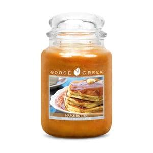 Świeczka zapachowa w szklanym pojemniku Goose Creek Masło klonowe, 0,68 kg