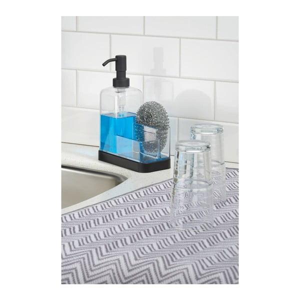 Dozownik na płyn do zmywania z miejscem na gąbkę Forma 2 Soap & Sponge