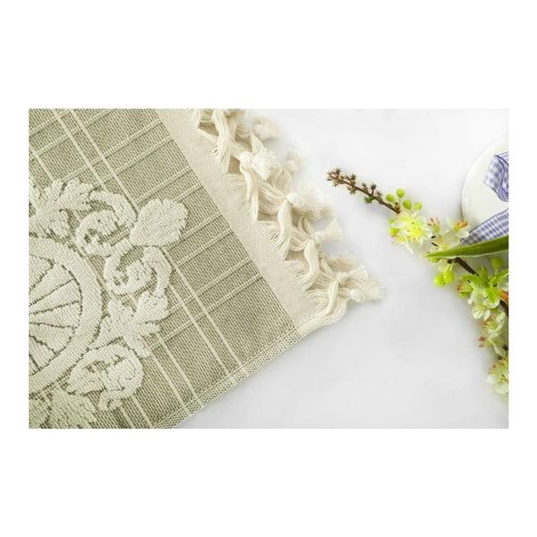 Zestaw 2 ręczników Eftelya Green, 50x90 cm