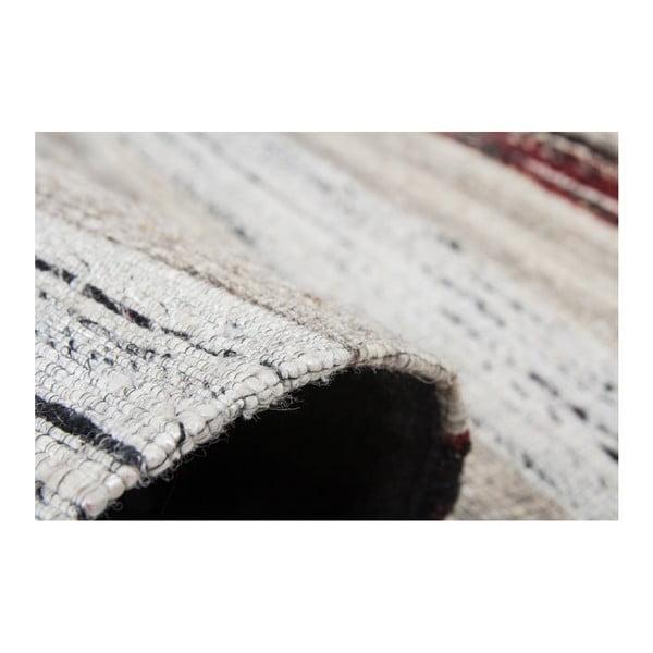 Kremowy dywan Evita, 80x150cm