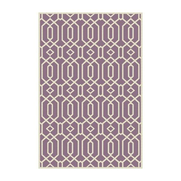 Dywan winylowy Rejilla Lila, 100x150 cm