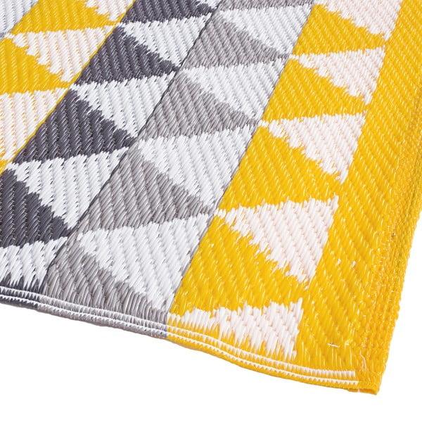 Dywan Mindi 120x180 cm, szaro-żółty