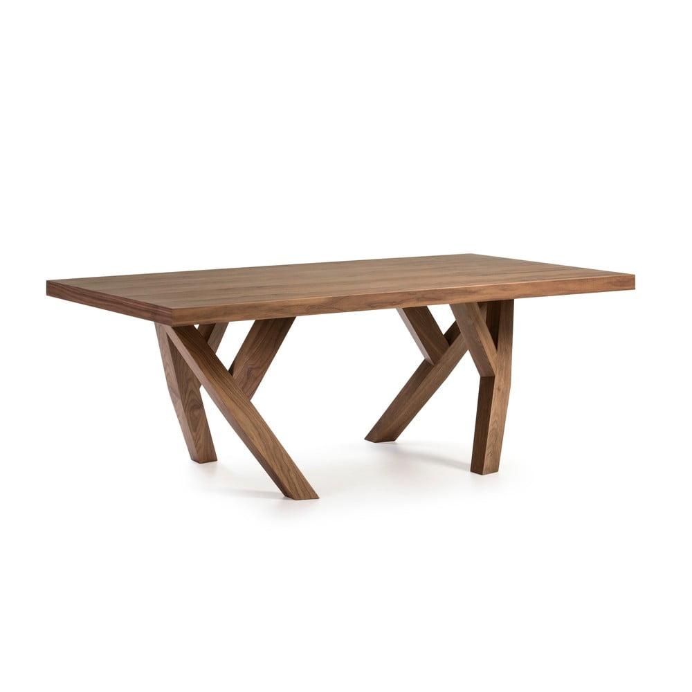 Stół do jadalni z konstrukcją z drewna orzechowego Ángel Cerdá, 200x110 cm