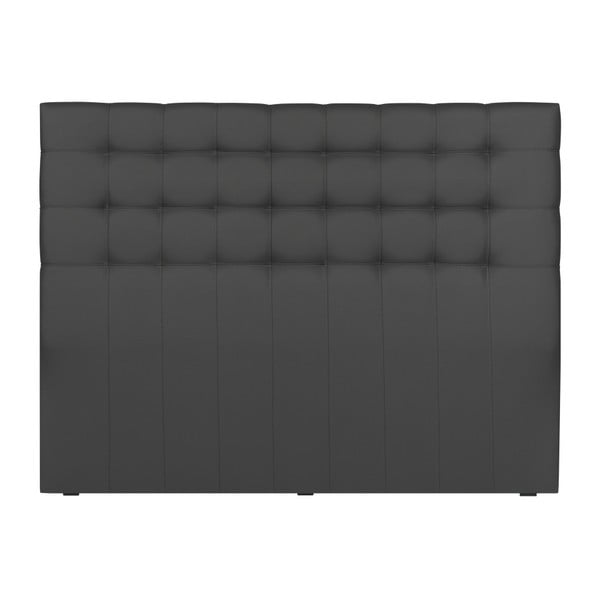 Szary zagłówek łóżka Windsor & Co Sofas Deimos, 180x120 cm