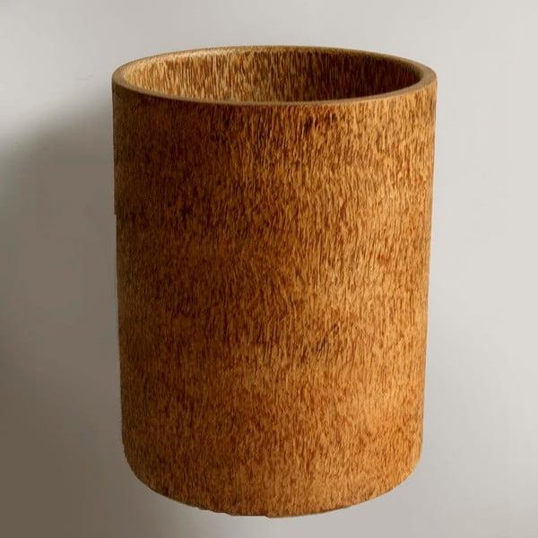 Palmowy wazon Wood, Caspo, 30 cm