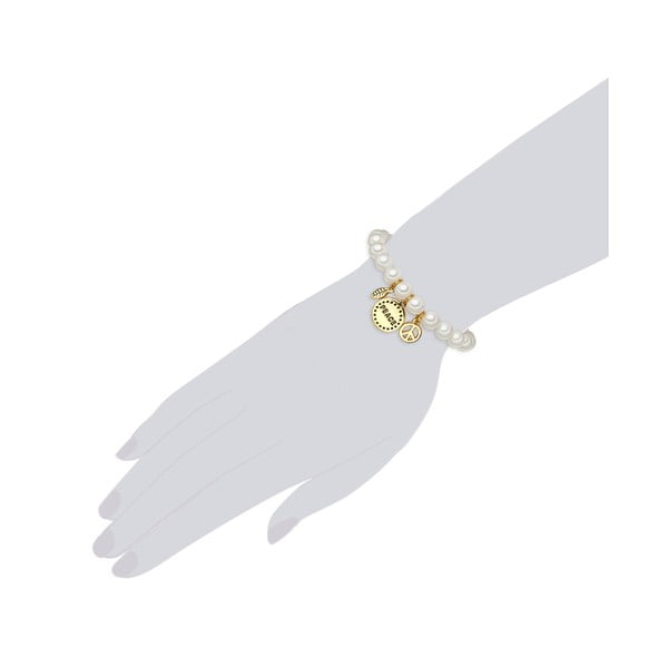 Perłowa bransoletka Loi, perła 8 mm