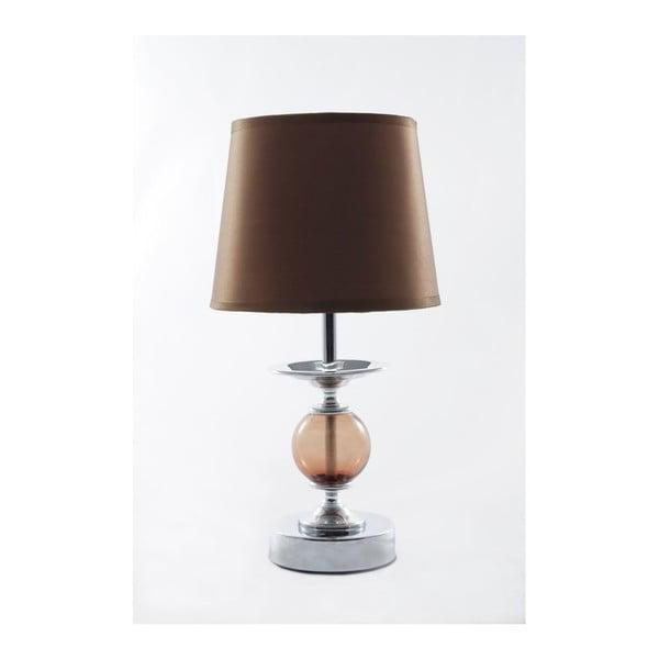 Lampa stołowa Glamour Caramel, 32,5 cm