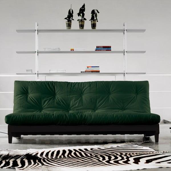 Sofa rozkładana Karup Fresh Wenge/Botella