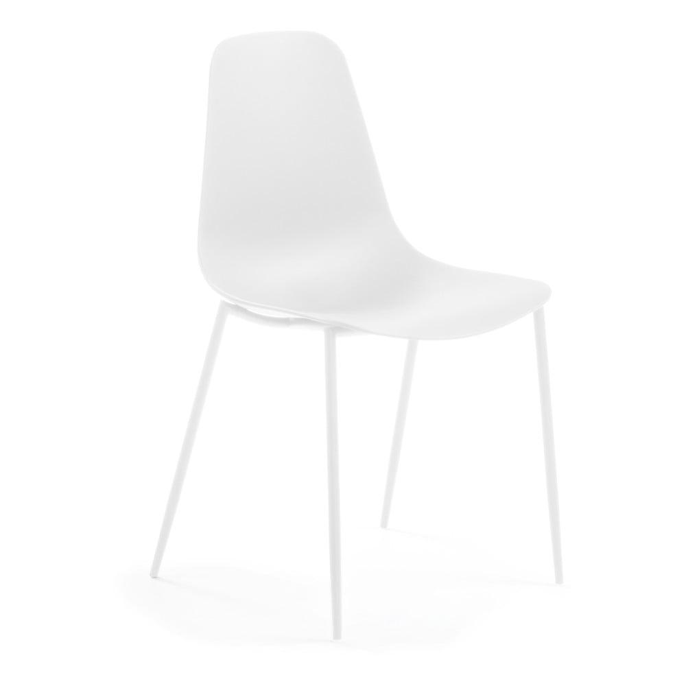 Białe krzesło La Forma Wassu
