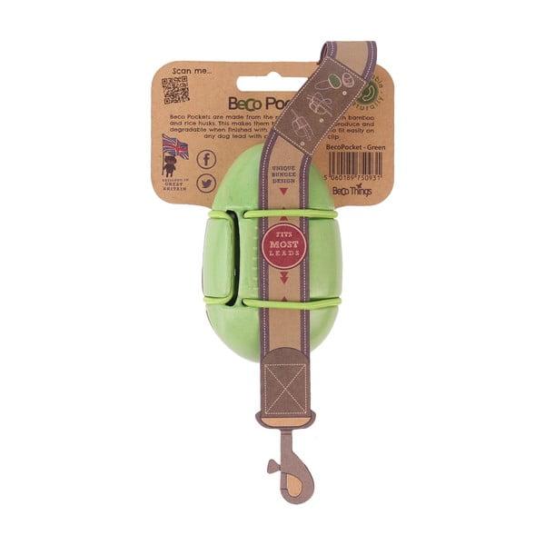Etui na woreczki na odchody Beco Pocket, zielone